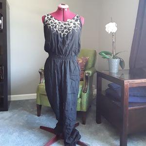 Silk jumpsuit